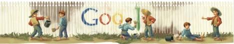Logo Google 30 November 2011